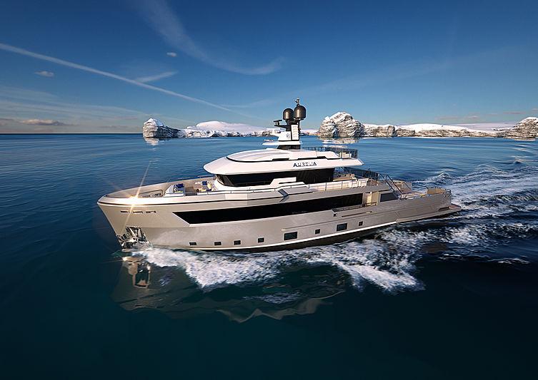 Aurelia 29 explorer yacht by Cantiere delle Marche
