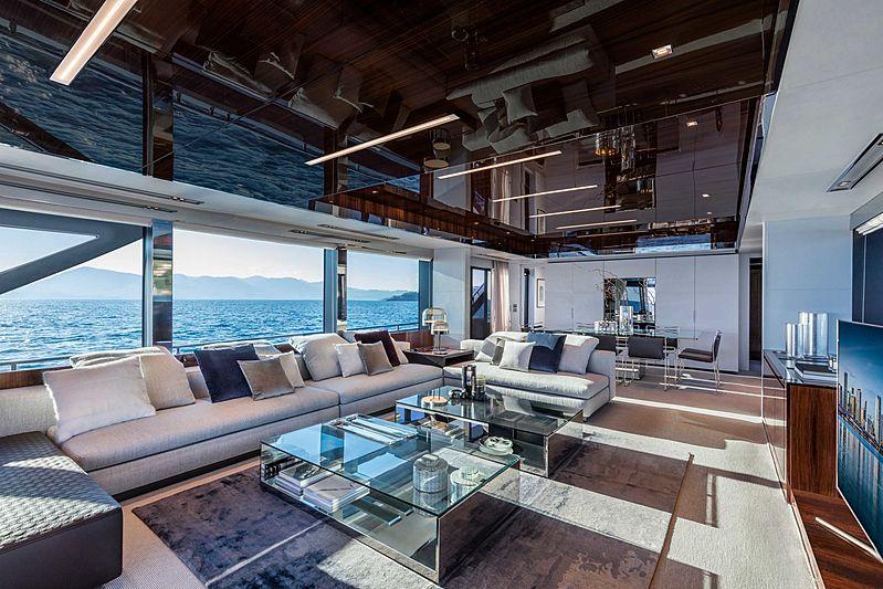 Riva 110 Dolcevita interior