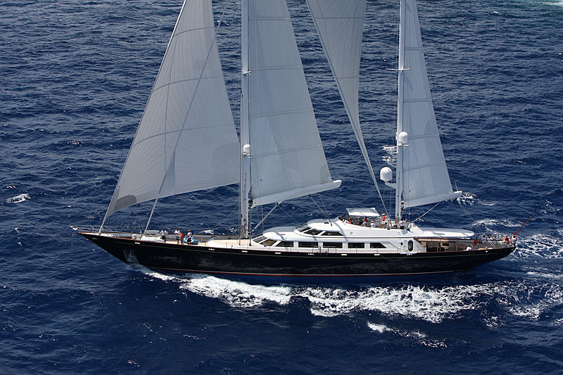 THE AQUARIUS yacht Perini Navi