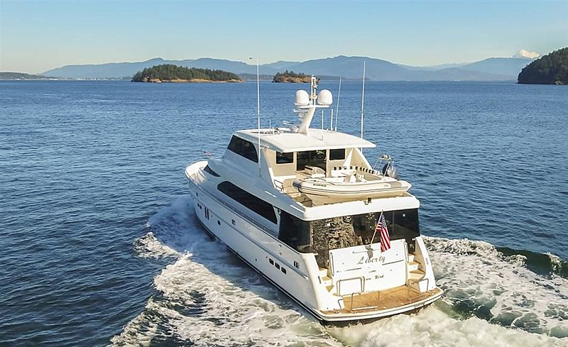 LIBERTY yacht Horizon
