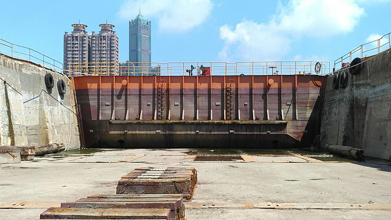 Central Yacht 110-metre dry dock facility in Kaohsiung, Taiwan