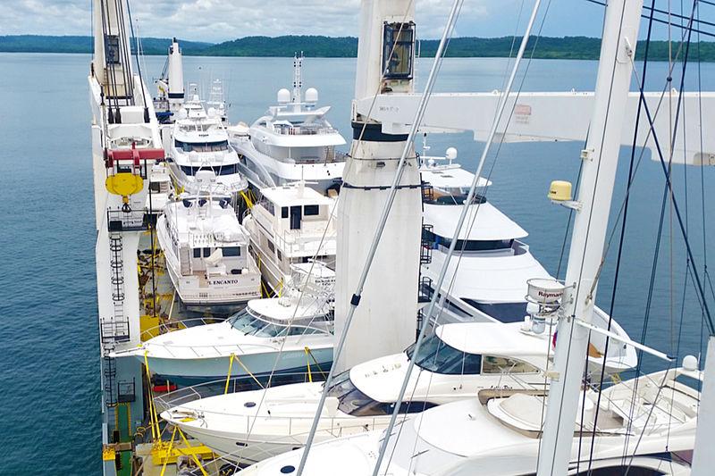 We Ship Yachts