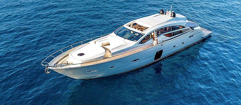 DANGEROUS BUT FUN III yacht Pershing