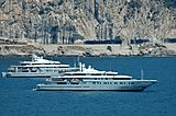 Annaliesse anchored in the south of France