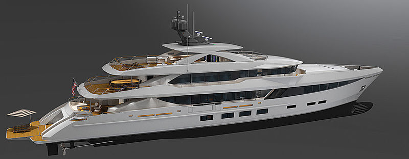 Hargrave 184 / HSY 56 motor yacht project