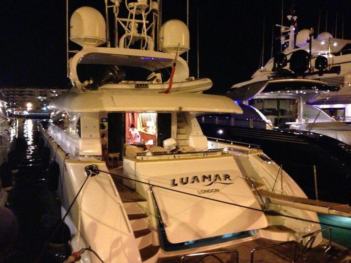 LUAMAR 2 yacht Maiora