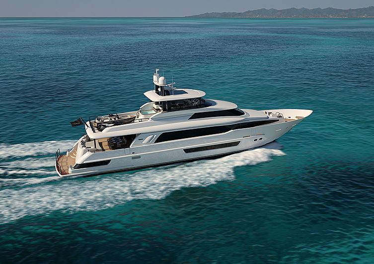 Crescent Custom Yacht 117' - Exterior