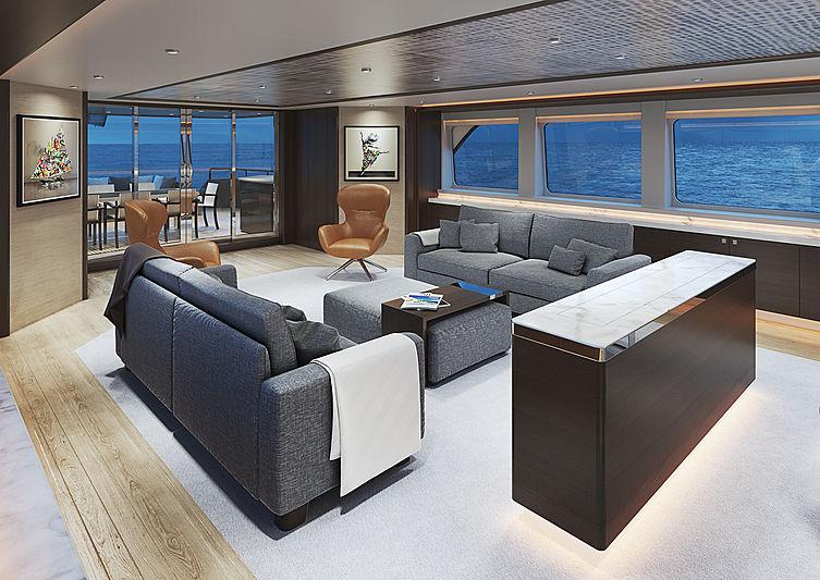 Crescent Custom Yachts 117' - Interior