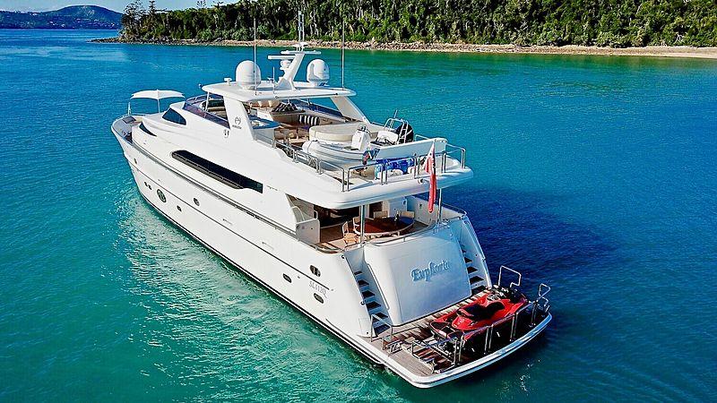 EUPHORIA yacht Horizon