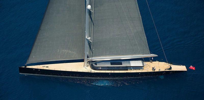 Aglaia sailing