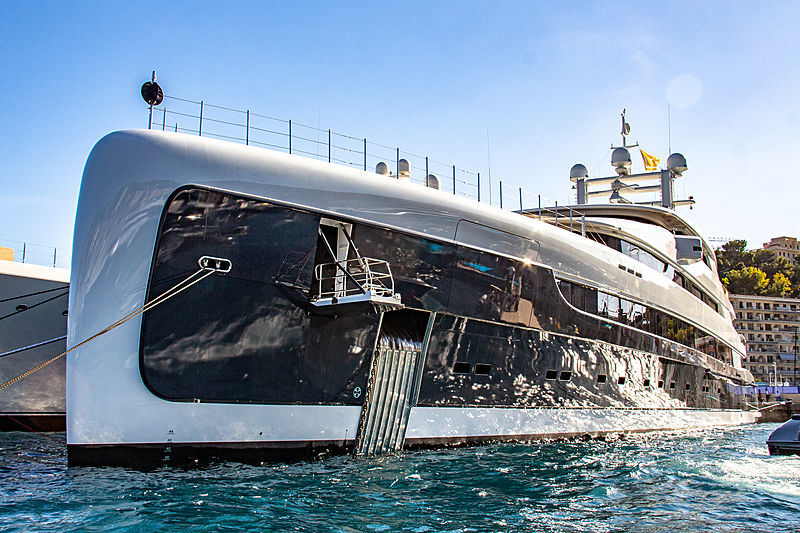 Illusion Plus at the Monaco Yacht Show 2018