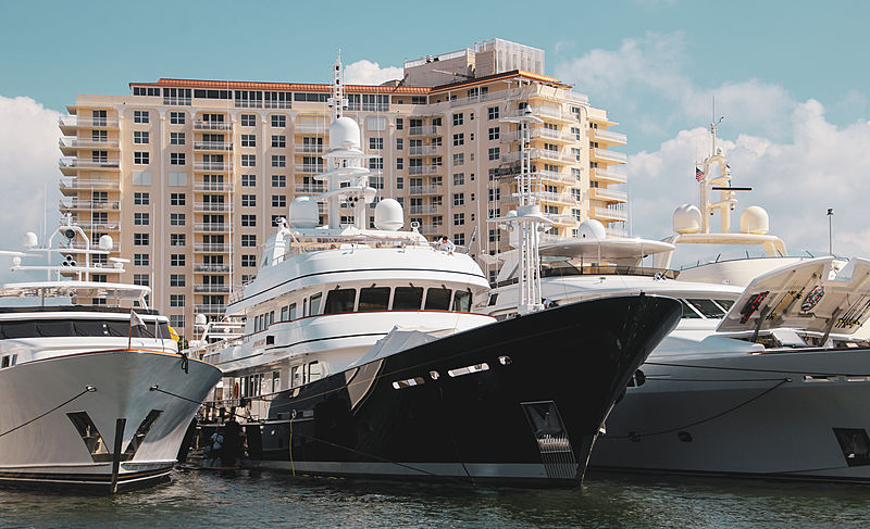 Angiamo during the 2018 Fort Lauderdale International Boat Show