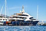 Barbara at the Monaco Yacht Show 2018