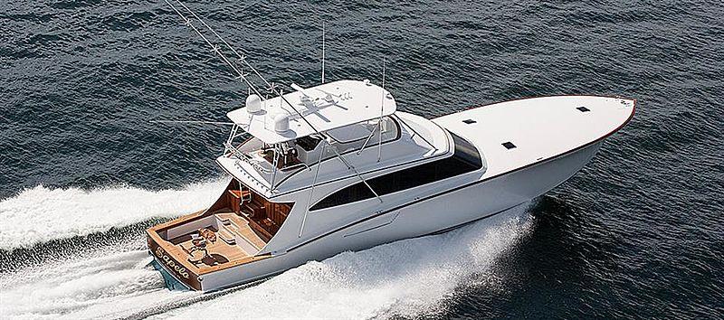 SAPELO yacht Jim Smith Boats
