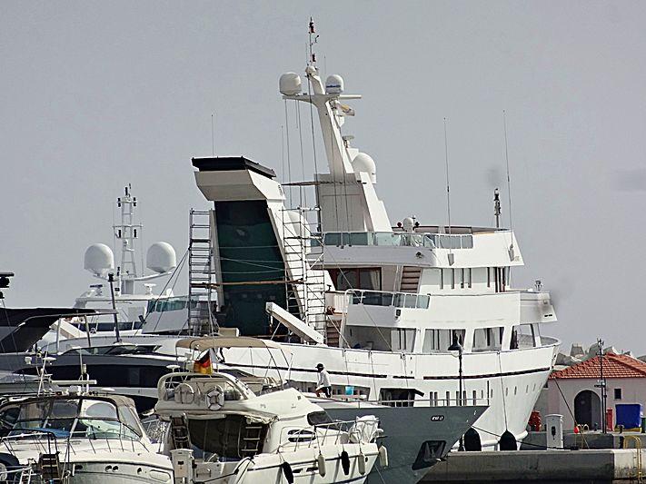 Esmeralda in Limassol Marina