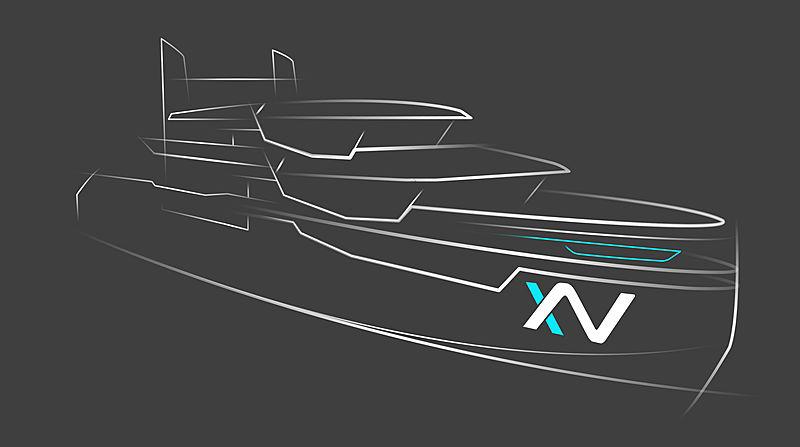Heesen X-Venture Explorer rendering