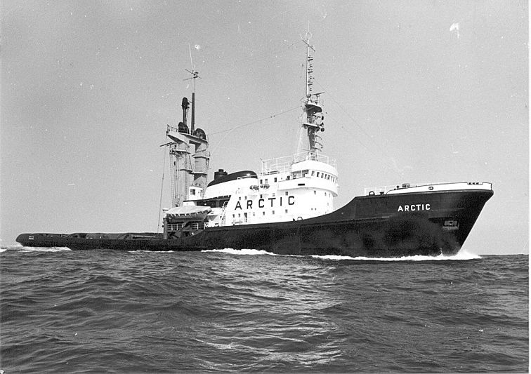 Arctic P as she was built in 1969