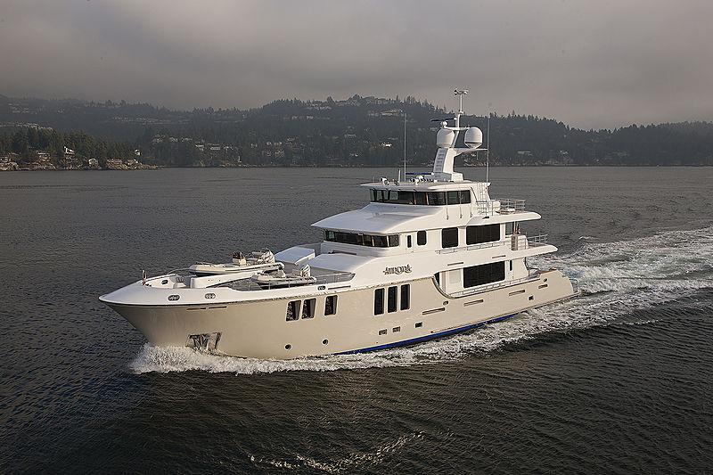 MY AURORA yacht Nordhavn Yachts