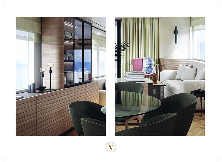 Vripack and Nordhavn partnership interior design