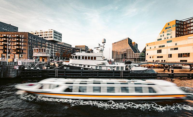 Noorderzon eplorer yacht in Amsterdam