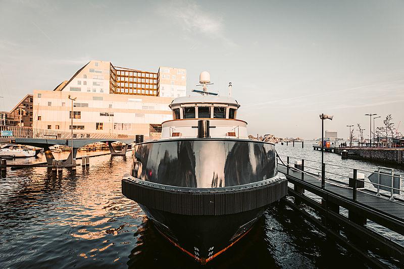 Noorderzon explorer yacht in Amsterdam