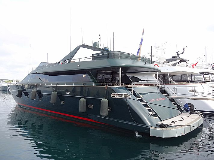 CAN'T REMEMBER yacht Tecnomar