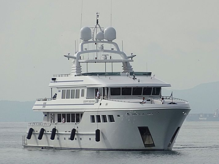 HAPPY DOLPHIN II yacht R.B.Dereli