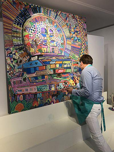 Lürssen Art Collective Paintings - Espen Oeino