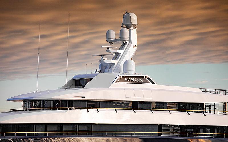 Lonian motor yacht by Feadship in Amsterdam