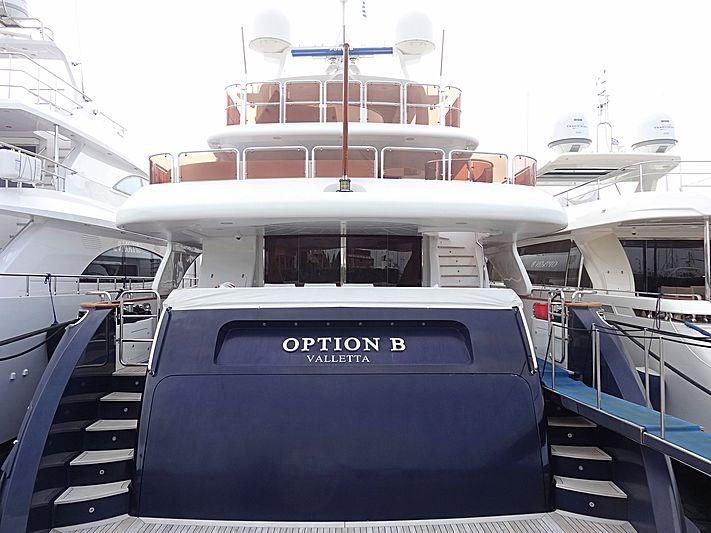 OPTION B yacht Benetti