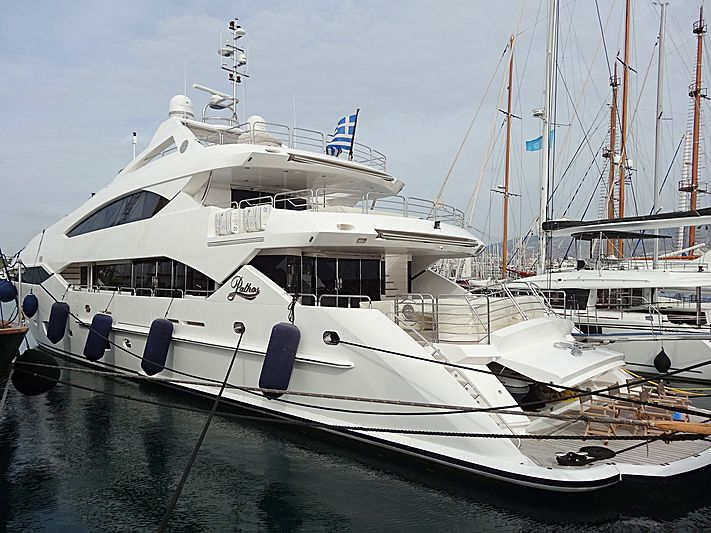 PATHOS yacht Sunseeker