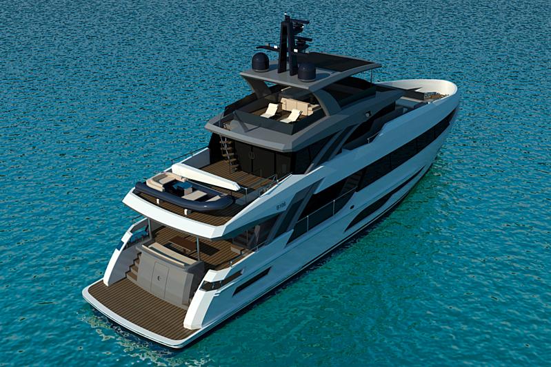 32m Bering Yachts 106 motor yacht