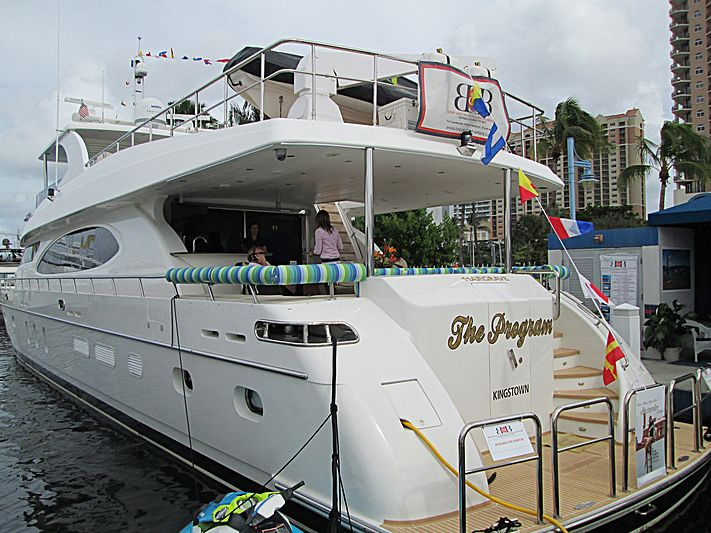 THE PROGRAM  yacht Hargrave