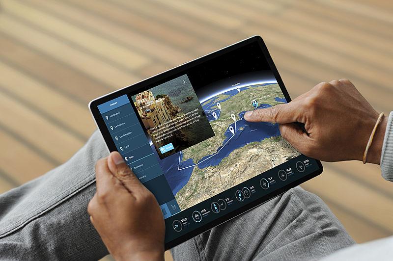 YachtEye iPad web app