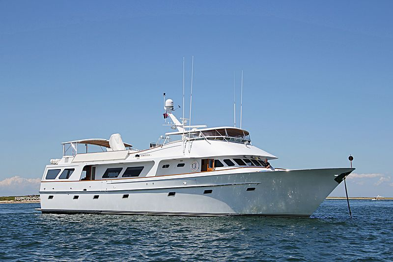 WILD DAWN yacht Poole