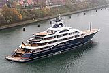 111m TIS motor yacht by Lürssen on seatrials