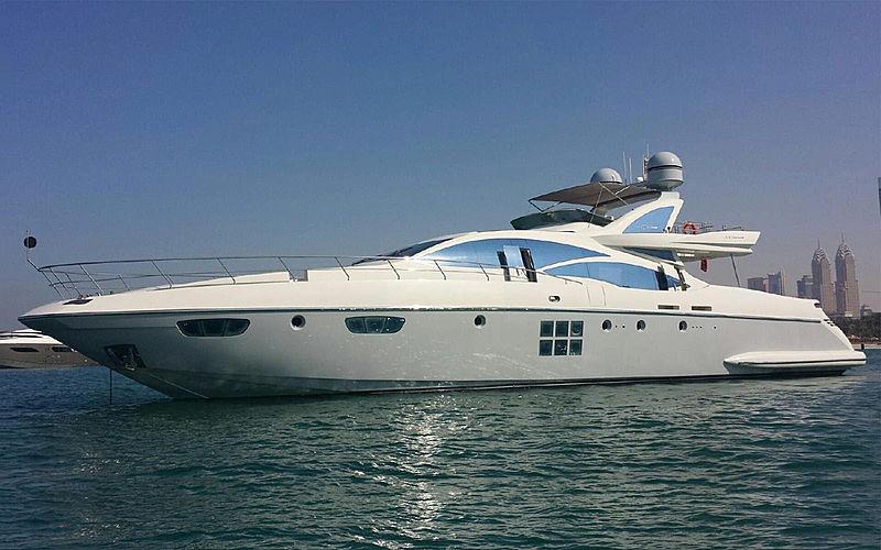 SCARLET II yacht Azimut