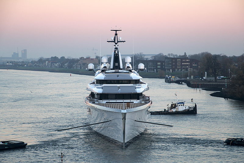 Oceanco Y718 yacht launched in Ablassedam