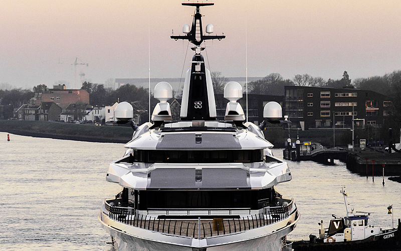 Oceanco Project Bravo Y718 Launch