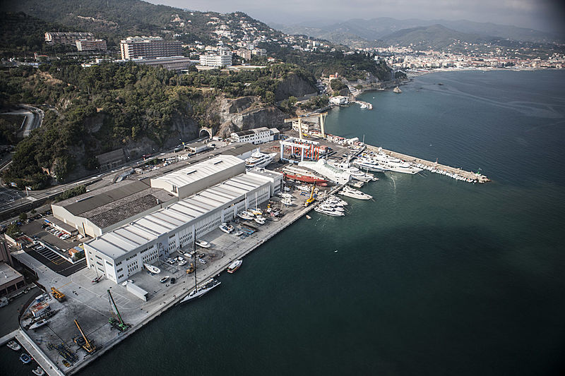 Palumbo Superyachts / Mondomarine in Savona, Italy