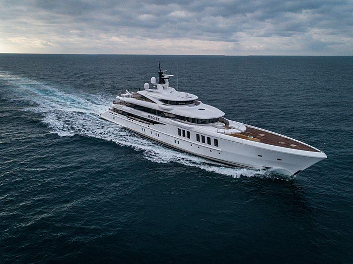 Spectre yacht by Benetti