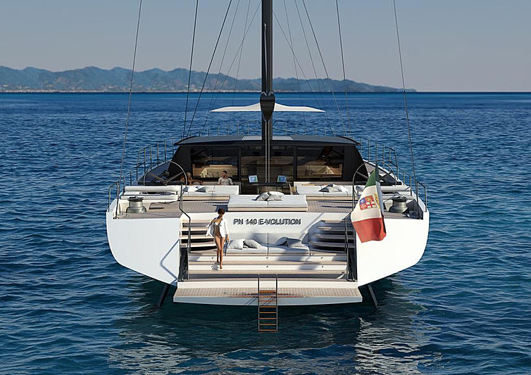 Perini Navi E-volution hull 2