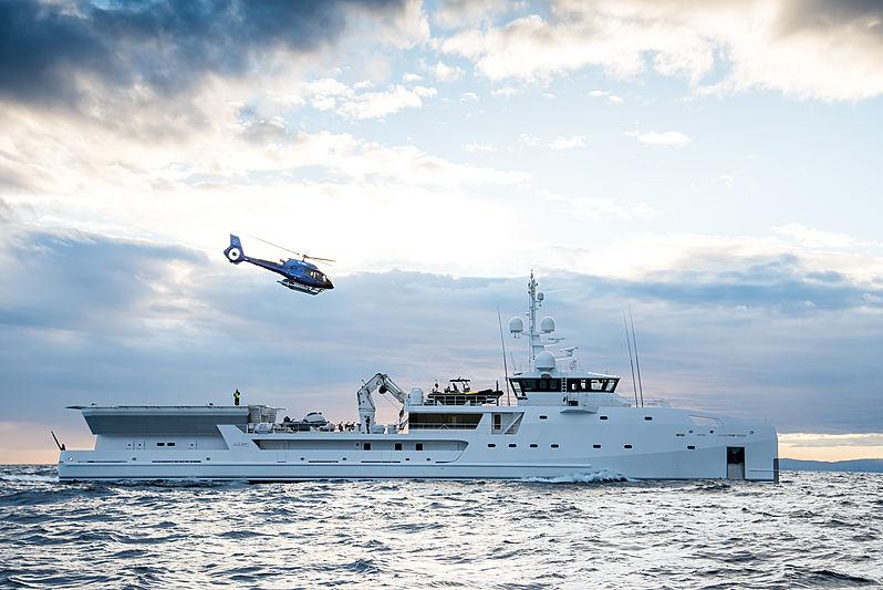 GAME CHANGER yacht Damen Yachting
