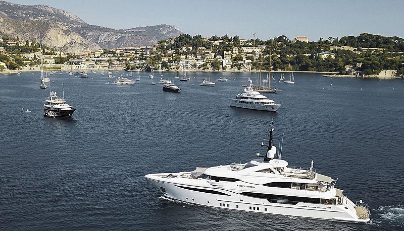 Nerissa motor yacht in Nice