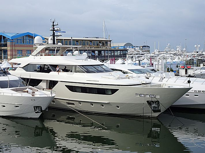 BLUE AGAVE yacht Sanlorenzo