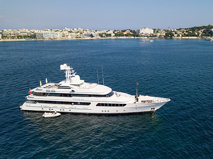 HURRICANE RUN yacht Feadship