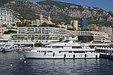 Herculina yacht in Monaco