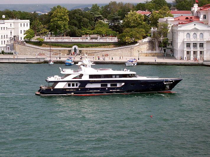 Svyatoy Nikolay yacht at Sevastopol