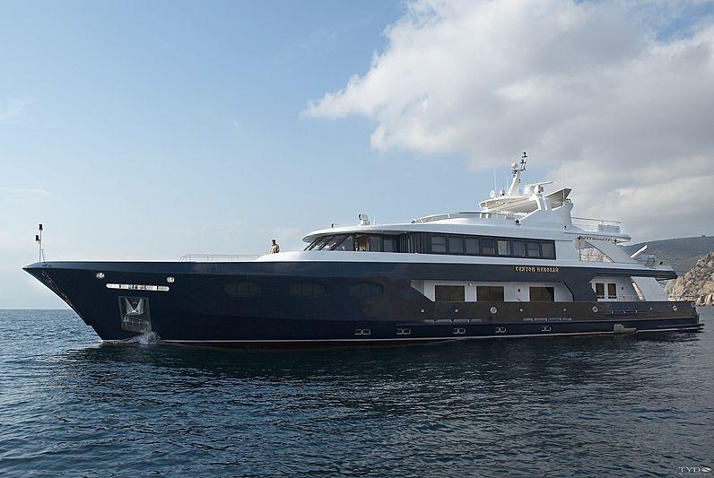 Svyatoy Nikolay yacht cruising