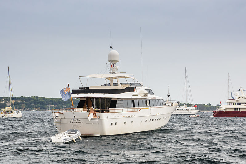 Atlantic Endeavour yacht in Cannes